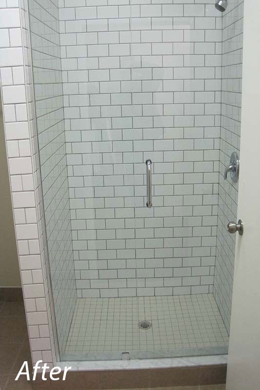 Commercial Shower After