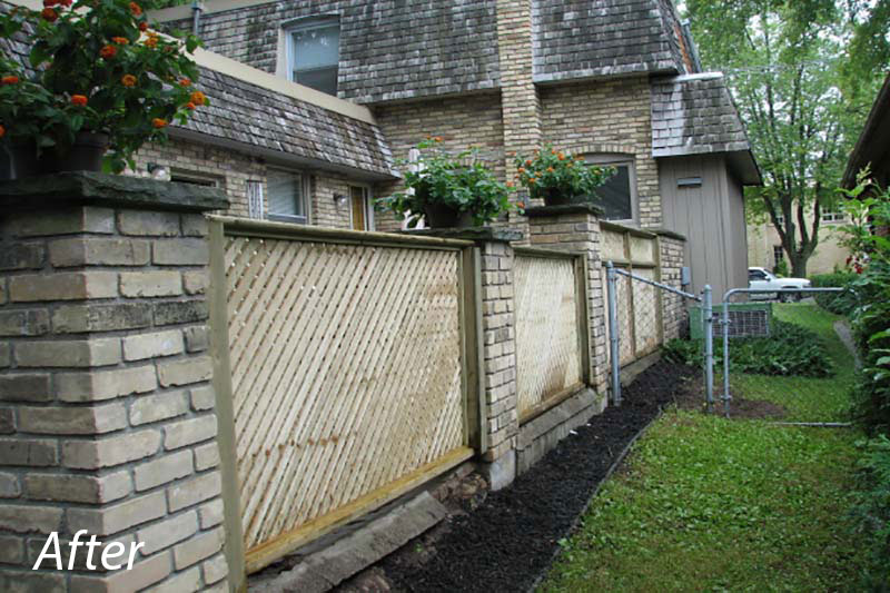 Lattice Fence After