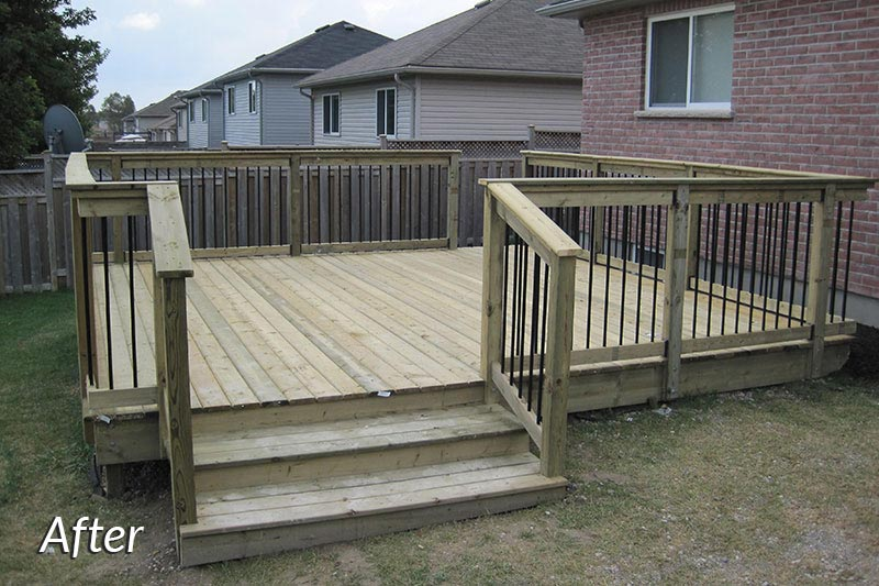 Back Deck After
