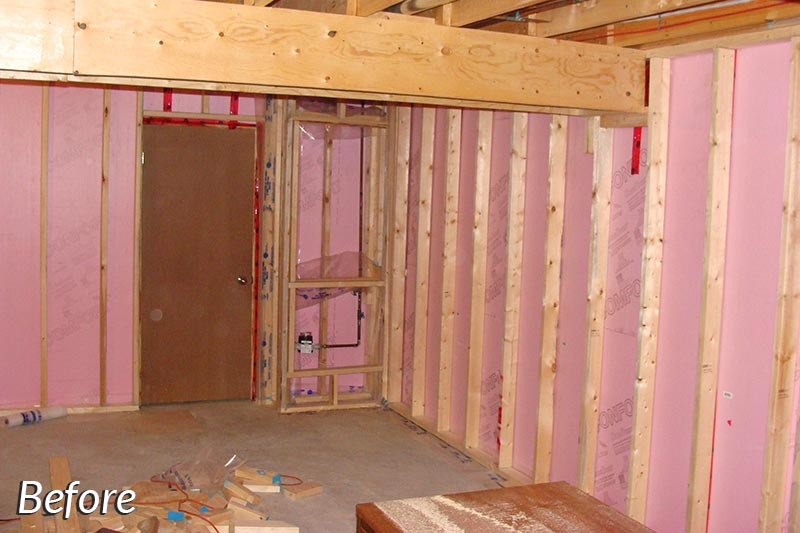 Simon Basement Before